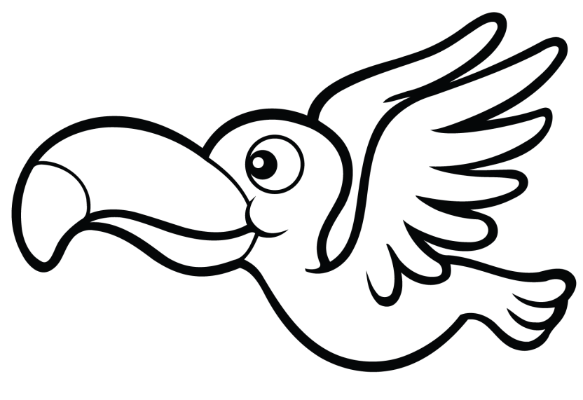 toucan coloring bird coloring pages toucan coloring