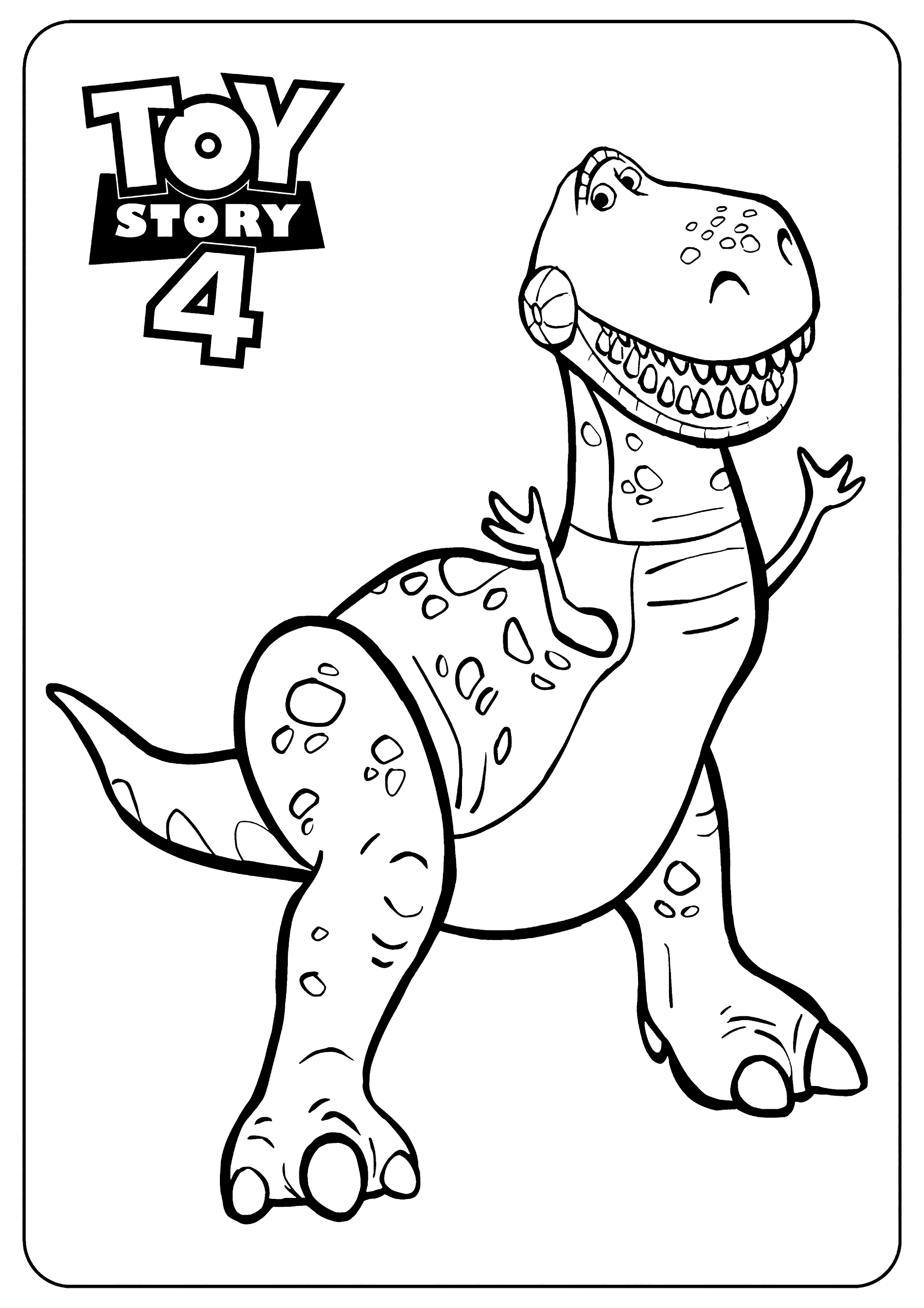 toy story 4 coloring 18 free printable toy story 4 coloring pages 1nza story toy coloring 4