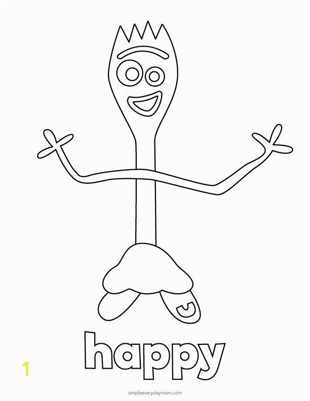 toy story 4 coloring pages forky toy story 4 forky coloring pages for kids toy 4 pages story coloring forky