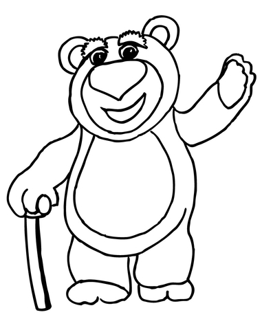 toy story coloring pages lotso lots o huggin bear coloring page supercoloringcom lotso coloring pages story toy