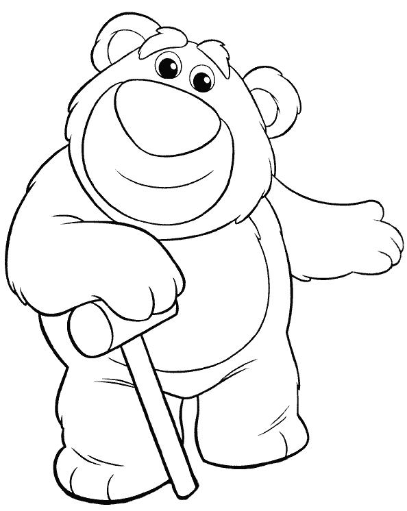 toy story coloring pages lotso meet lots o huggin bear in toy story 3 coloring page lotso toy story coloring pages