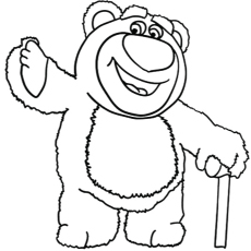 toy story coloring pages lotso toy story 3 drawing free download on clipartmag pages lotso toy story coloring