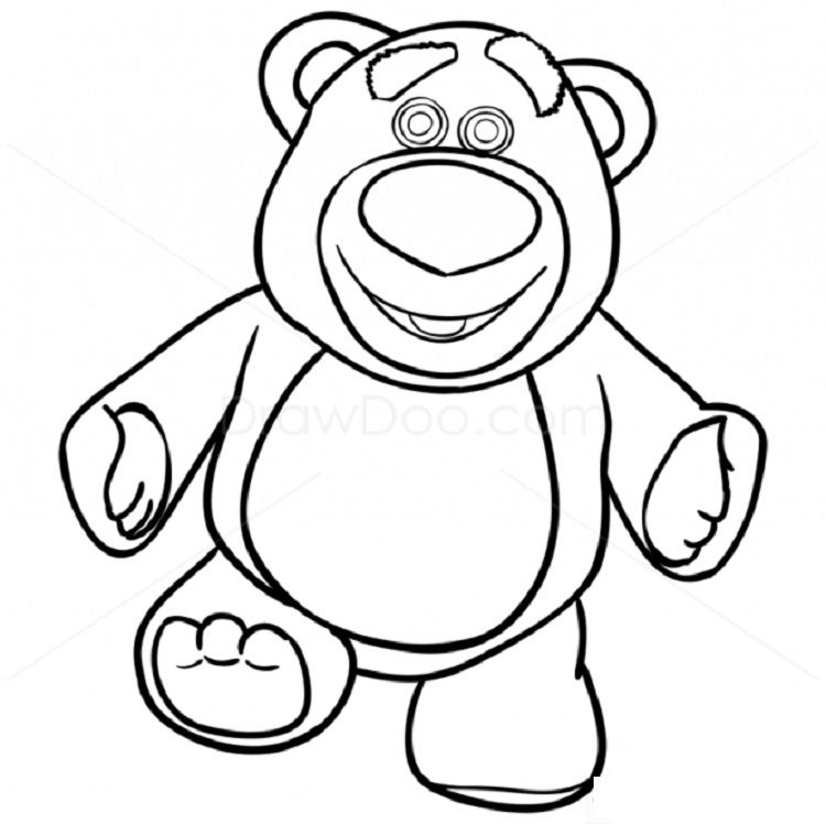 toy story coloring pages lotso toy story characters drawing free download on clipartmag coloring toy pages story lotso