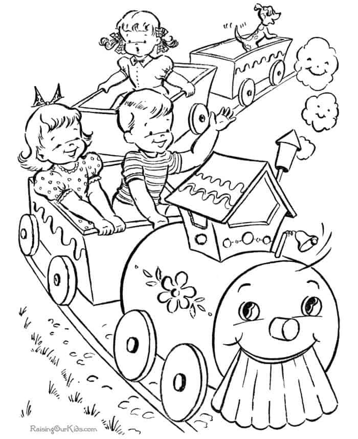 toy train coloring pages one toy train coloring page see the category to find more toy coloring pages train