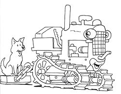 tractor pictures for kids free printable tractor coloring pages for kids for kids tractor pictures