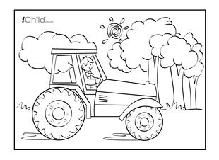 tractor pictures for kids truck color book pages truck coloring sheet coloring tractor kids for pictures