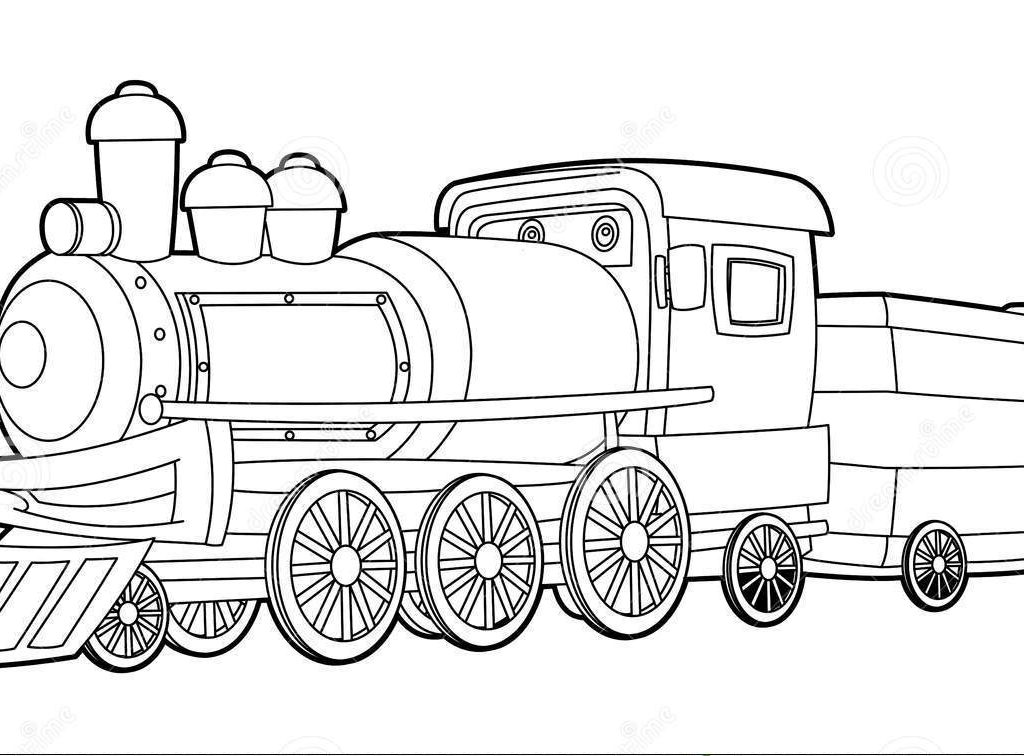 train coloring free printable train coloring pages for kids cool2bkids coloring train 1 1