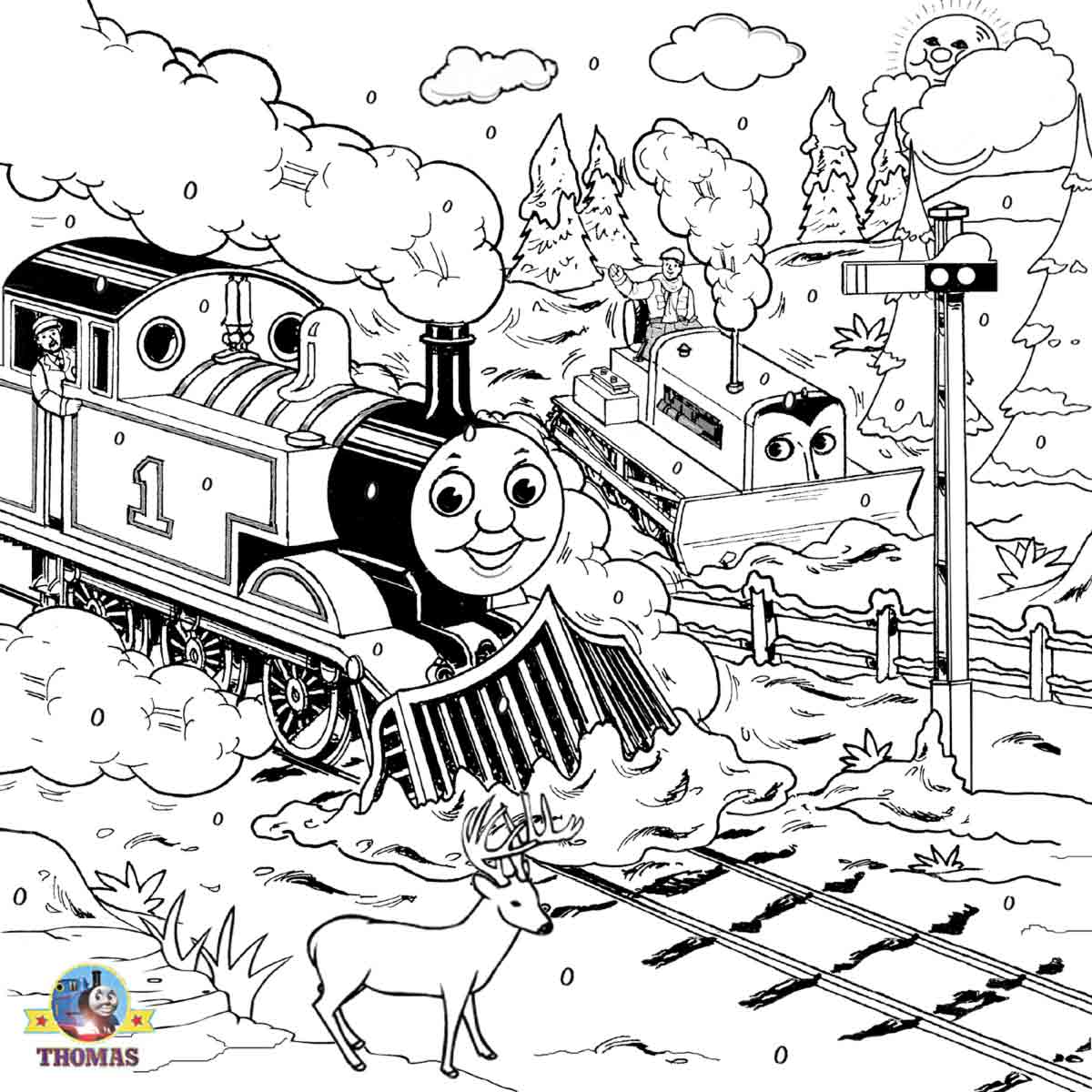 train coloring free printable train coloring pages for kids cool2bkids train coloring 1 1