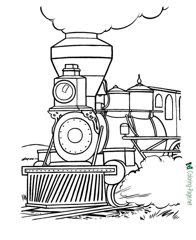 trains coloring pages free printable train coloring pages for kids pages trains coloring