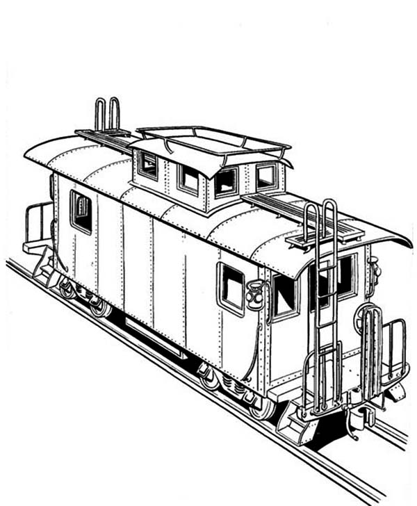 trains coloring pages freight train on railroad coloring page color luna pages trains coloring