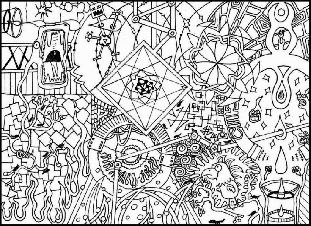 trippy coloring page psychedelic pattern coloring page free printable page trippy coloring
