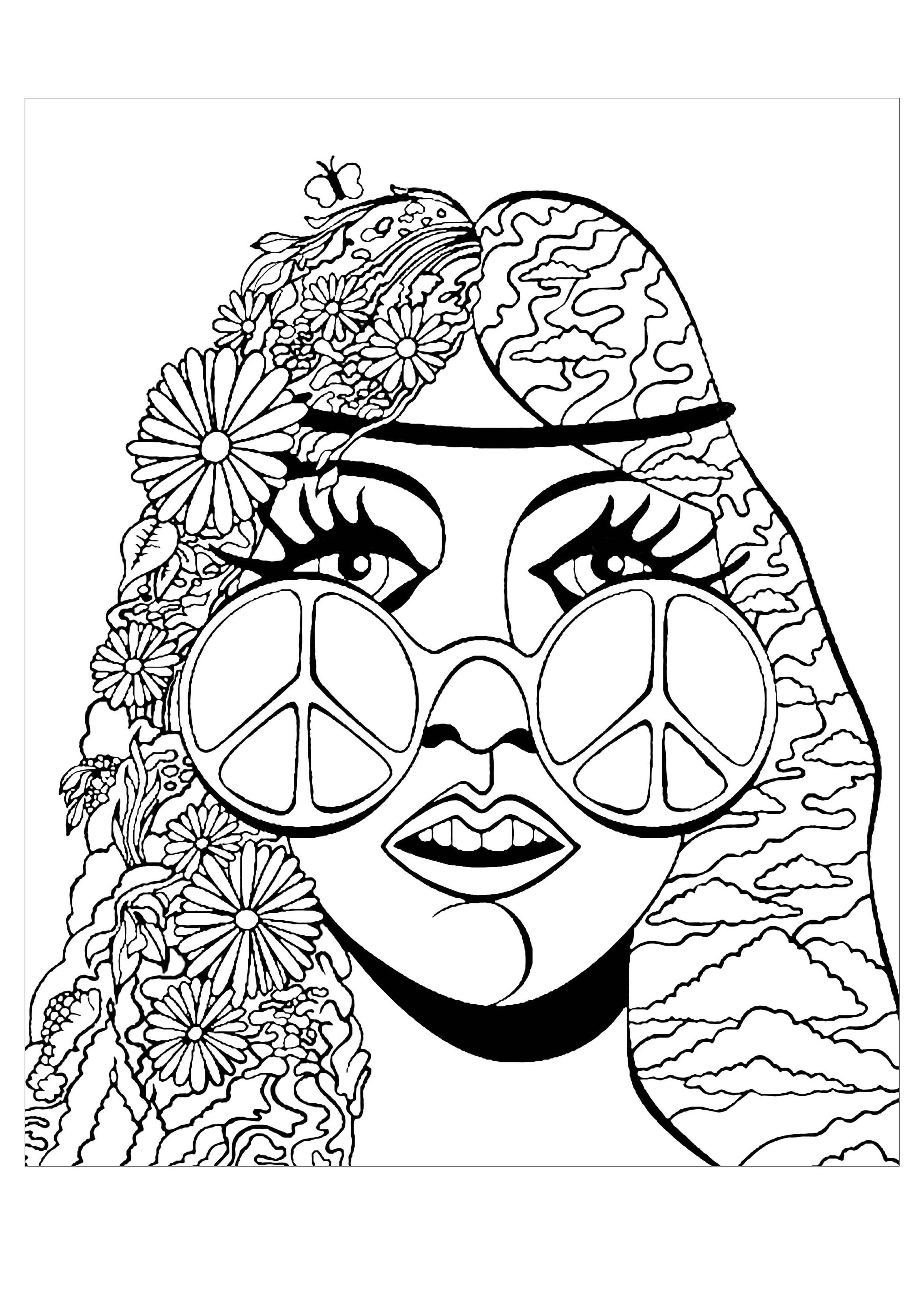 trippy coloring page trippy coloring pages psychedelic coloring pages beautiful trippy page coloring