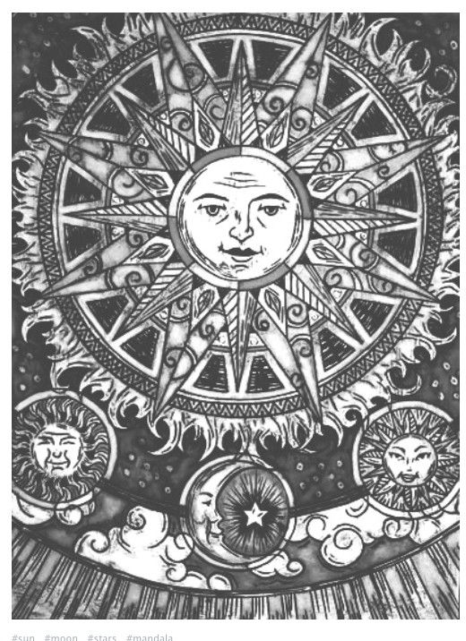 trippy sun and moon black and white gt psychedelic art art art inspiration moon and sun trippy
