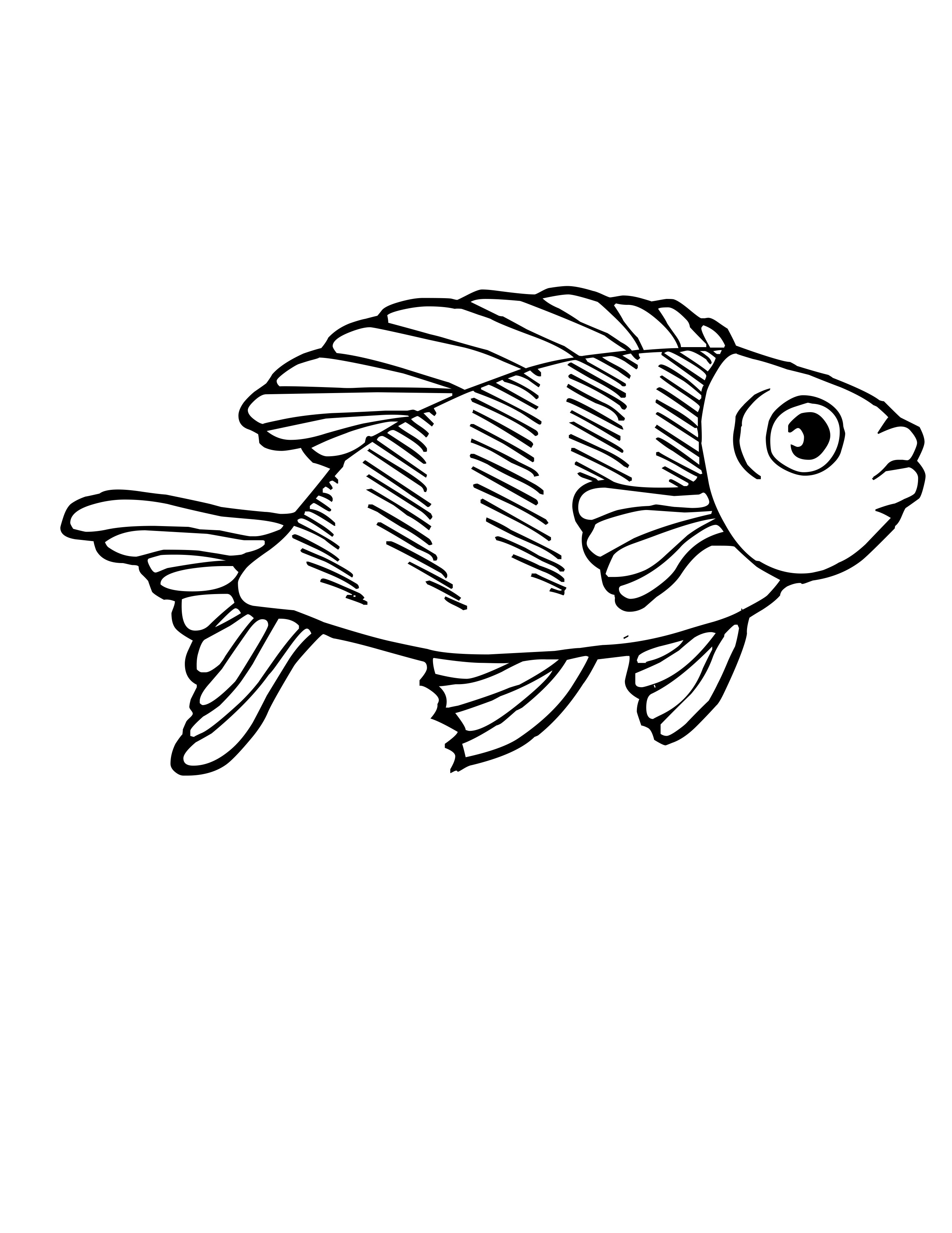tropical fish coloring pages tropical fishes coloring pages hellokidscom fish coloring tropical pages