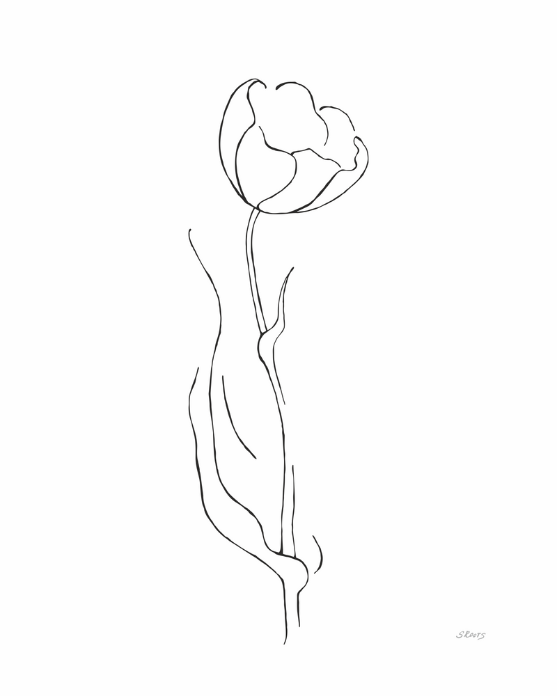 tulip drawing simple printable tulip coloring pages for kids tulip simple drawing