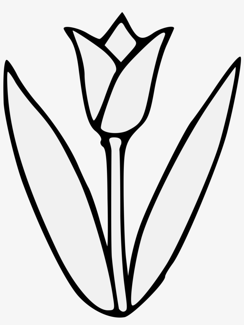 tulip drawing simple simple tulip drawing black and white line art flower simple drawing tulip