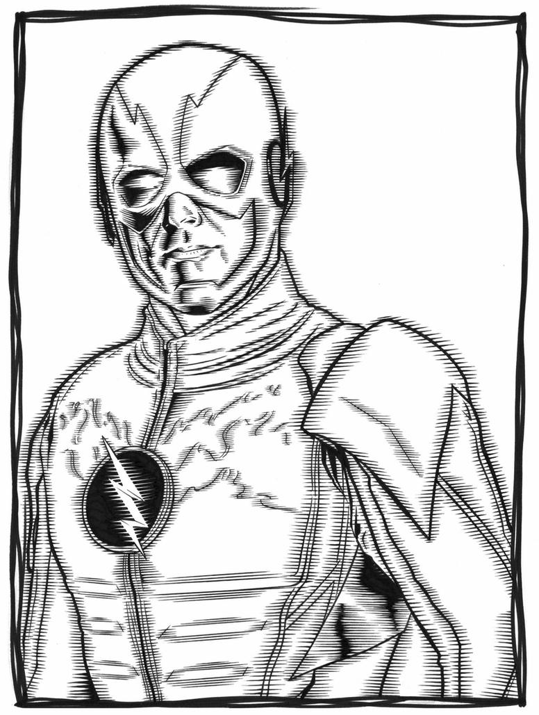 tv show flash coloring pages flash tv series by brett booth comic books art sketches tv flash show coloring pages