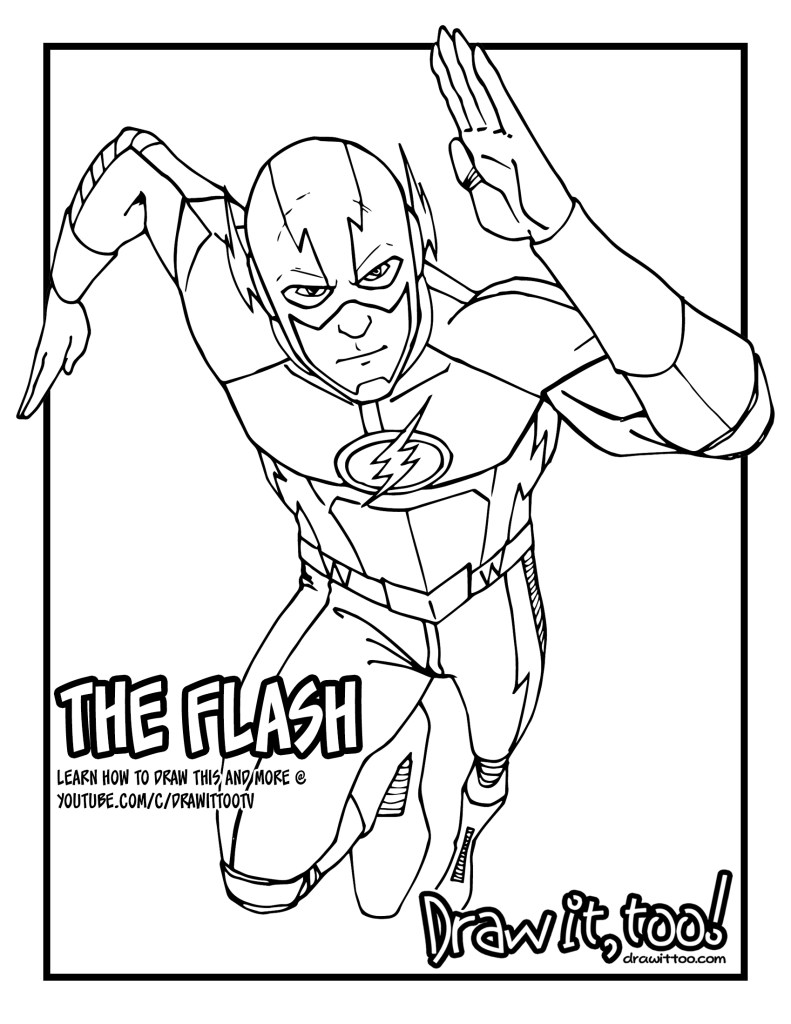 tv show flash coloring pages printable the flash coloring pictures show coloring flash pages tv
