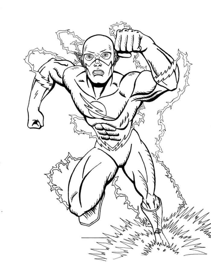 tv show flash coloring pages printable the flash coloring pictures show pages tv coloring flash