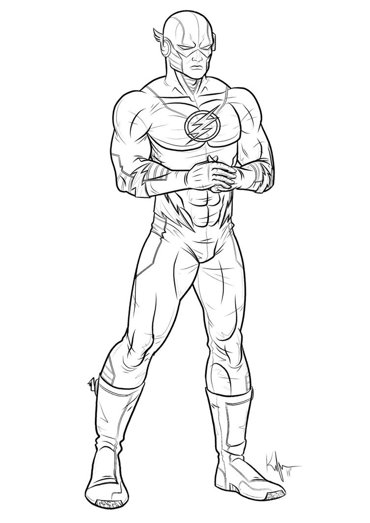 tv show flash coloring pages the flash coloring pages coloring4freecom flash tv coloring show pages
