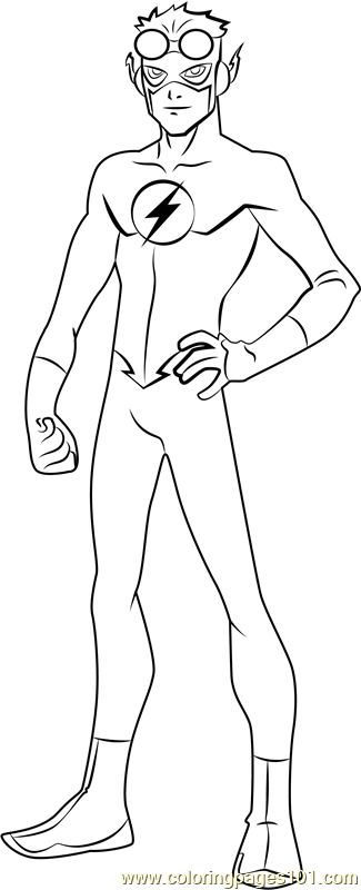 tv show flash coloring pages the flash coloring pages coloring4freecom tv flash coloring show pages