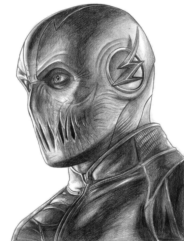 tv show flash coloring pages zoom the flash by soulstryder210 on deviantart pages flash show tv coloring