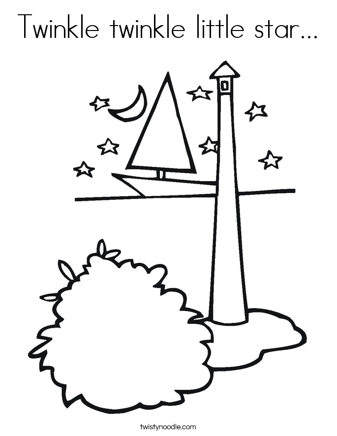twinkle star coloring page twinkle twinkle little star coloring page coloring home twinkle page star coloring