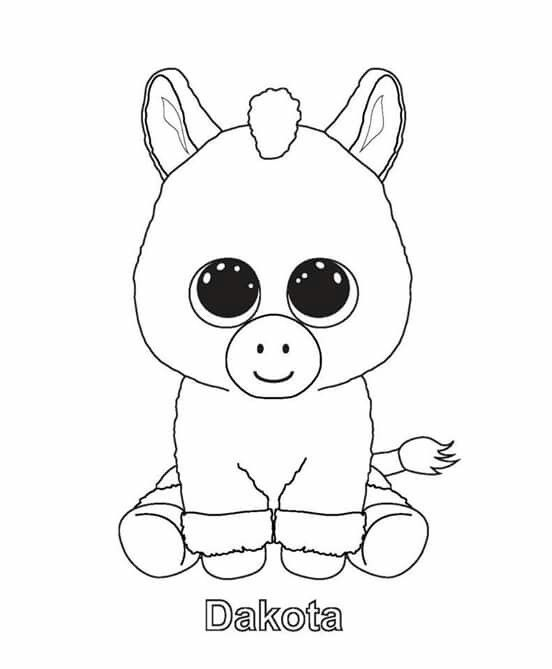 ty unicorn coloring pages pin van carla rupke op ty beanie kleurplaten kleurplaten pages ty unicorn coloring