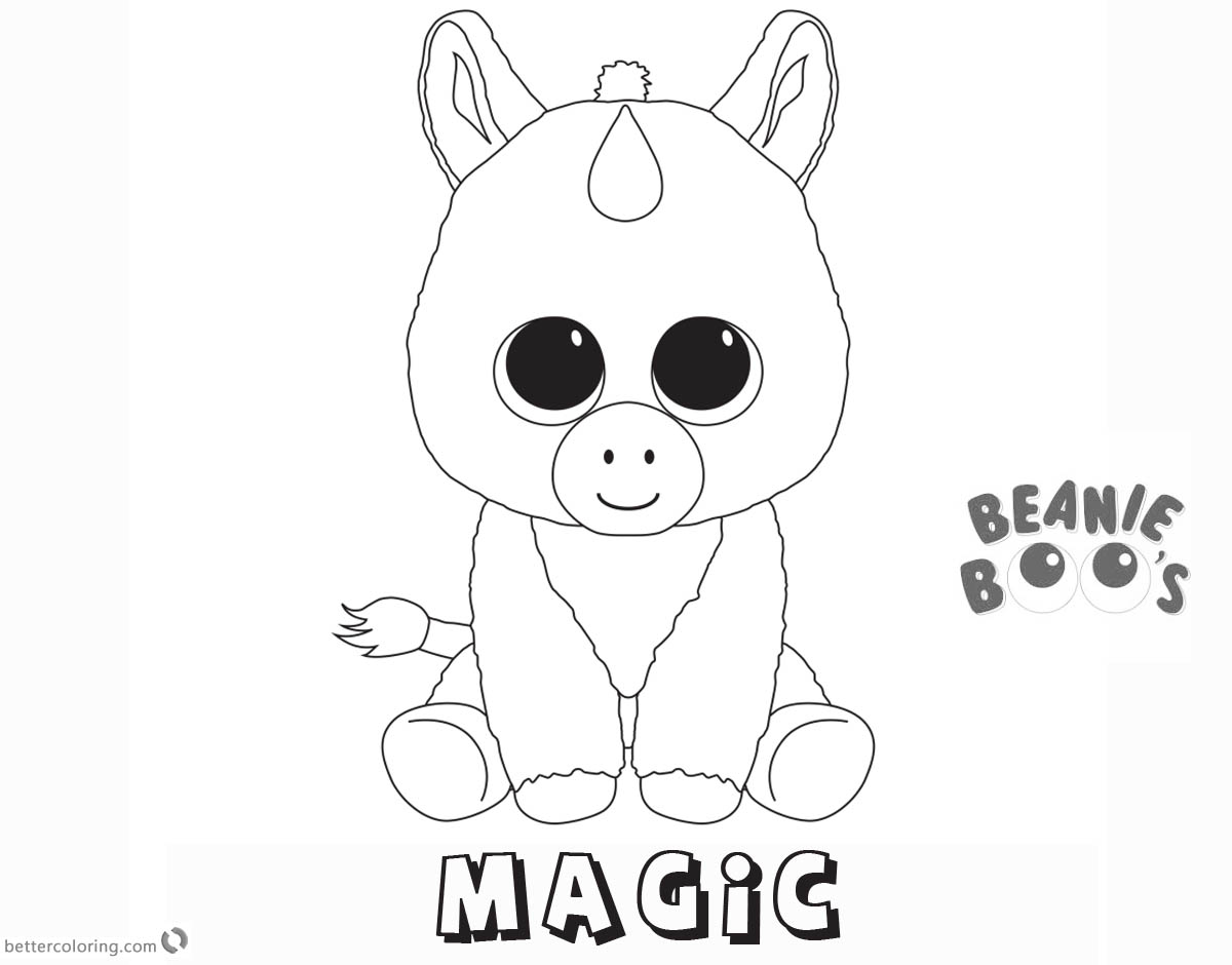 ty unicorn coloring pages swoops the bat ty beanie boo desenhos para colorir coloring pages ty unicorn