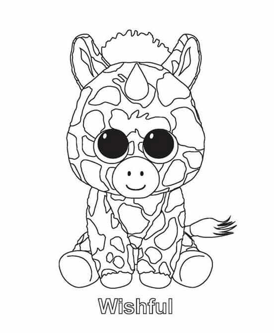 ty unicorn coloring pages title met afbeeldingen kleurplaten knuffel beanie pages ty unicorn coloring