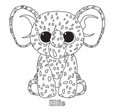 ty unicorn coloring pages ty beanie boo coloring pages download and print for free pages ty coloring unicorn