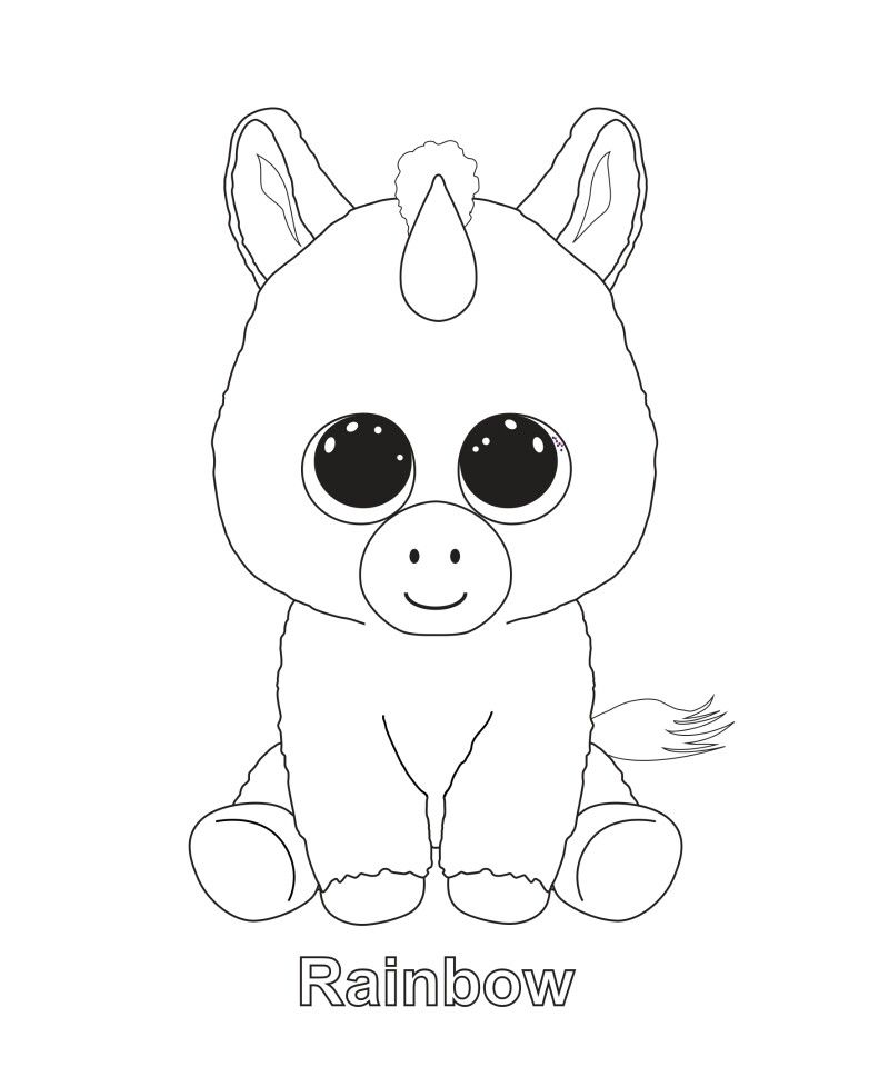 ty unicorn coloring pages ty cat coloring pages cat coloring page art activities coloring pages unicorn ty