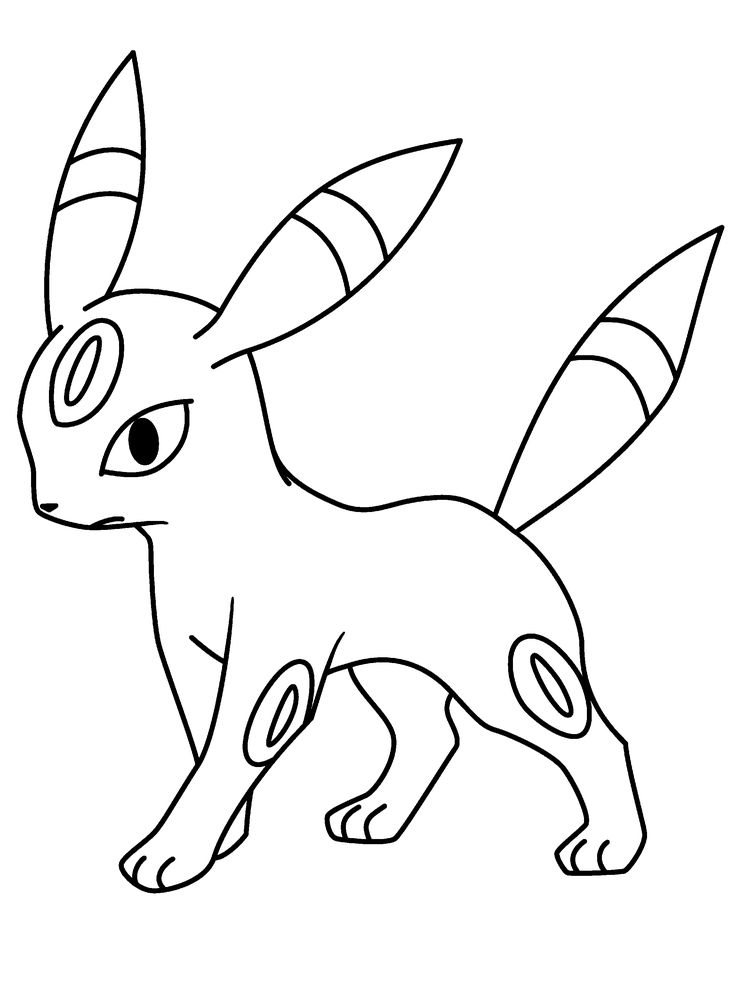 umbreon pokemon coloring pages 37 best images about pokemon coloring pages on pinterest pages umbreon pokemon coloring