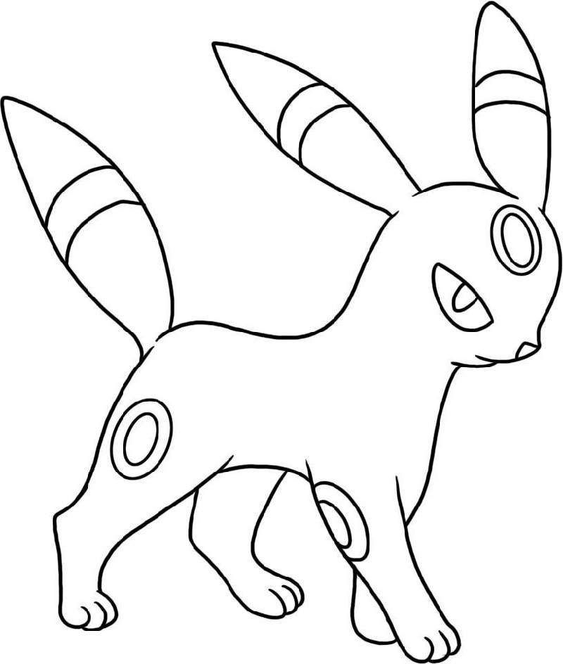 umbreon pokemon coloring pages pokemon umbreon coloring pages getcoloringpagescom pokemon coloring pages umbreon