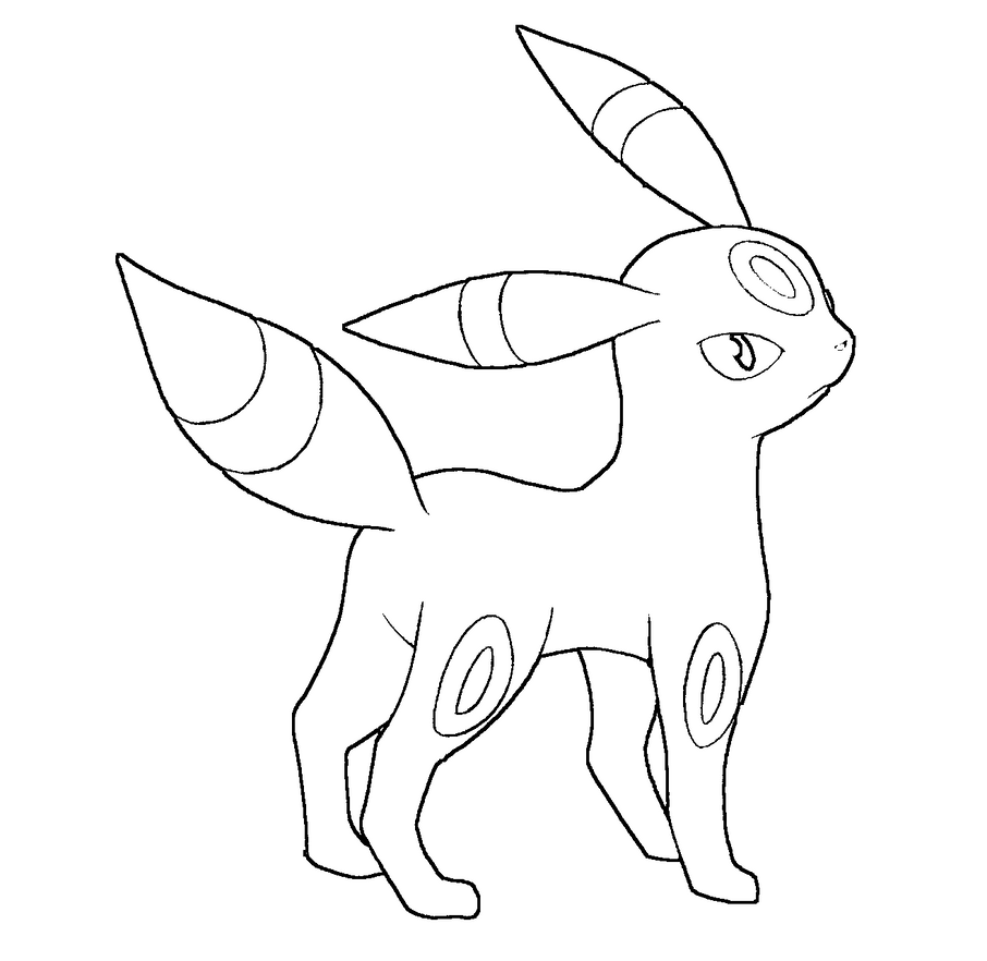 umbreon pokemon coloring pages umbreon drawing at getdrawings free download pokemon pages coloring umbreon