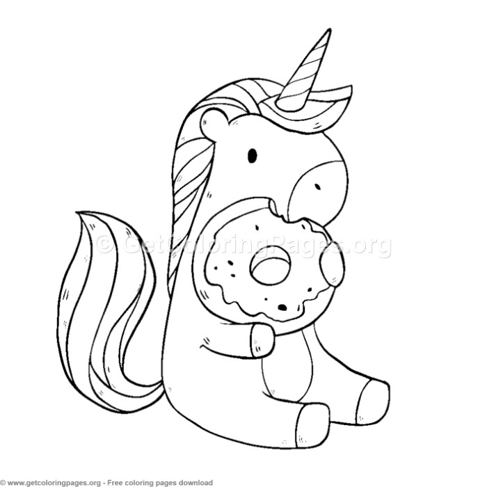 unicorn eating donut coloring page the cutest free unicorn coloring pages online unicorn coloring eating page donut