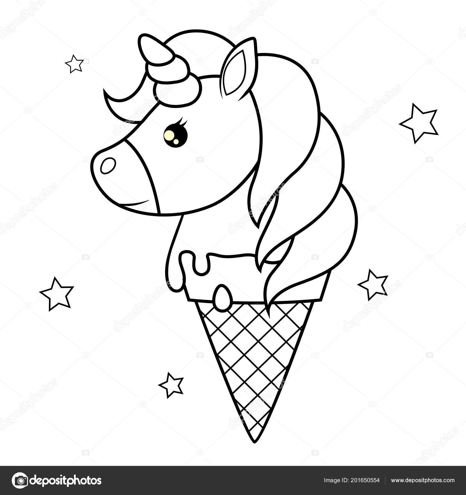 unicorn ice cream coloring pages downloadable colouring page from the i heart unicorns pages ice coloring cream unicorn