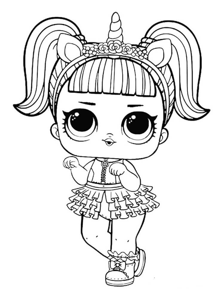 unicorn lol doll coloring page lol doll unicorn coloring pages unicorn coloring pages doll unicorn page lol coloring