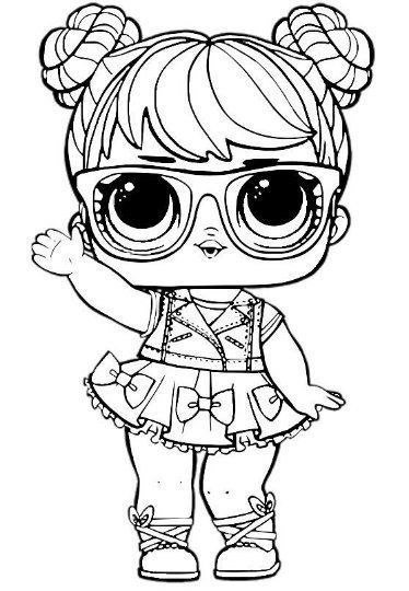 unicorn lol doll coloring page lol surprise dolls coloring pages print in a4 format page lol doll coloring unicorn