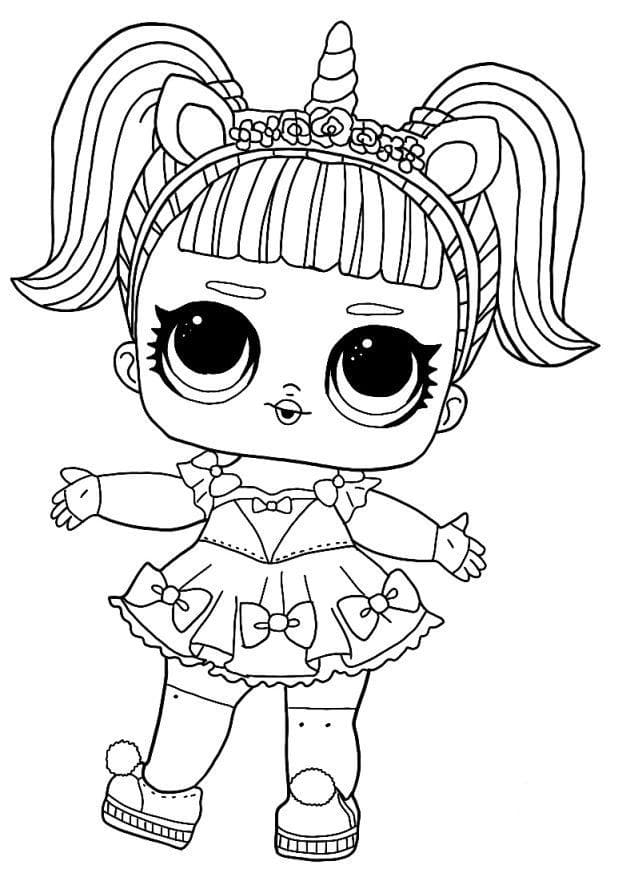 unicorn lol doll coloring page pin by cindy figuerow on birthday coloring pages coloring page unicorn lol doll