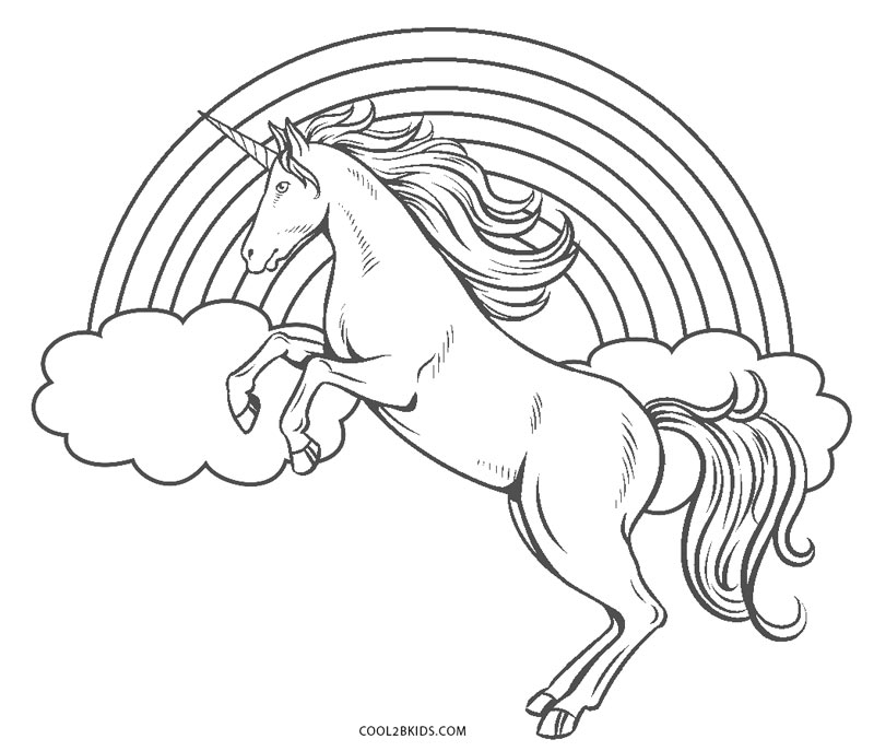 unicorn rainbow coloring pages adorable unicorn coloring pages for girls and adults updated rainbow unicorn pages coloring