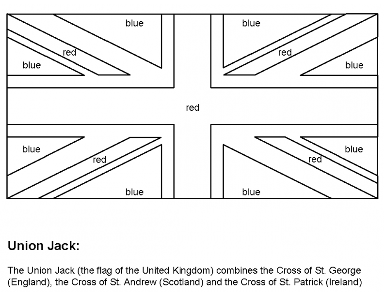 union jack flag to colour colour and cut out union jack bunting template a mummy too jack colour flag union to