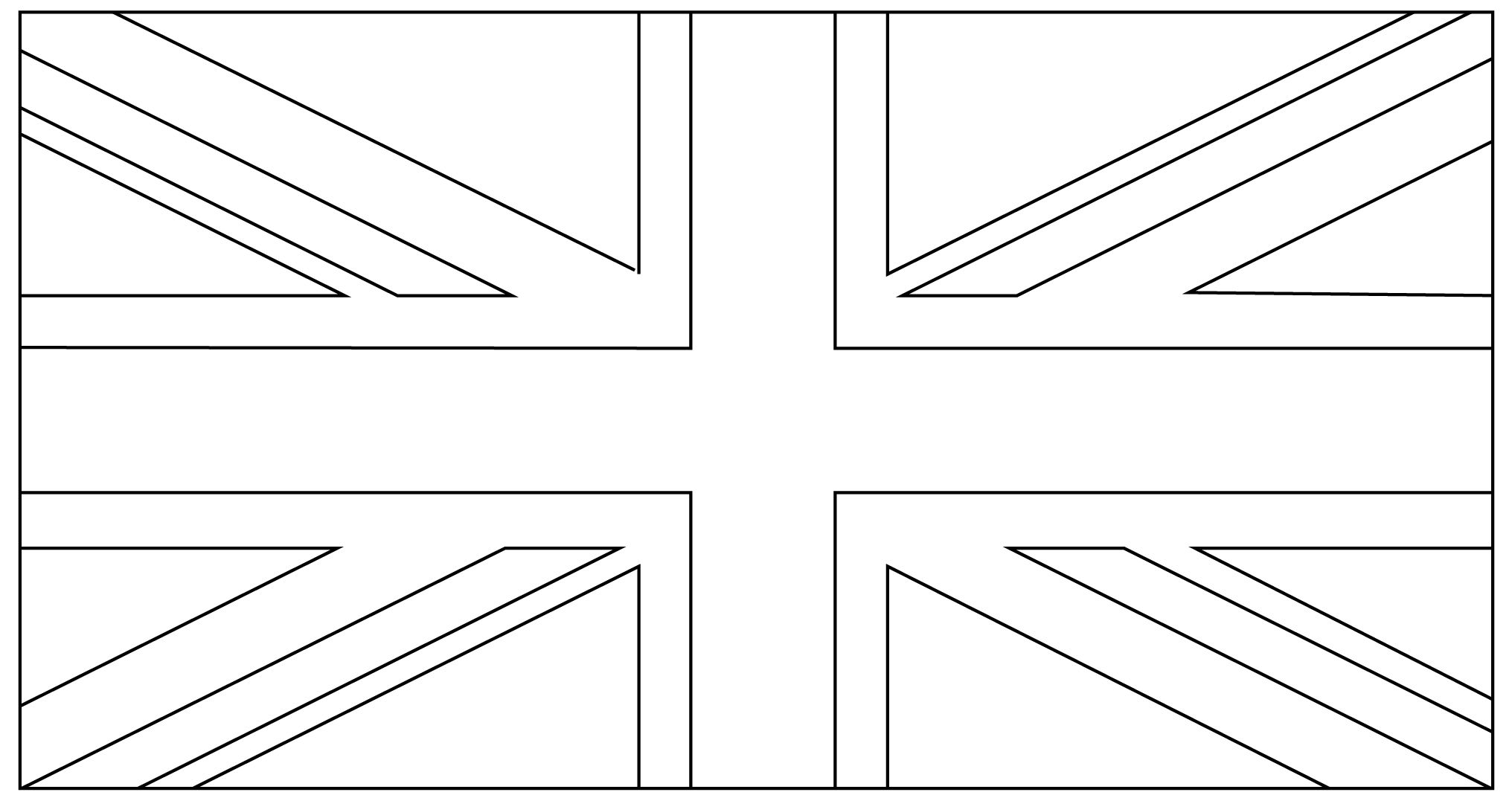 union jack flag to colour colouring for kids things to do about the uk union to flag colour jack