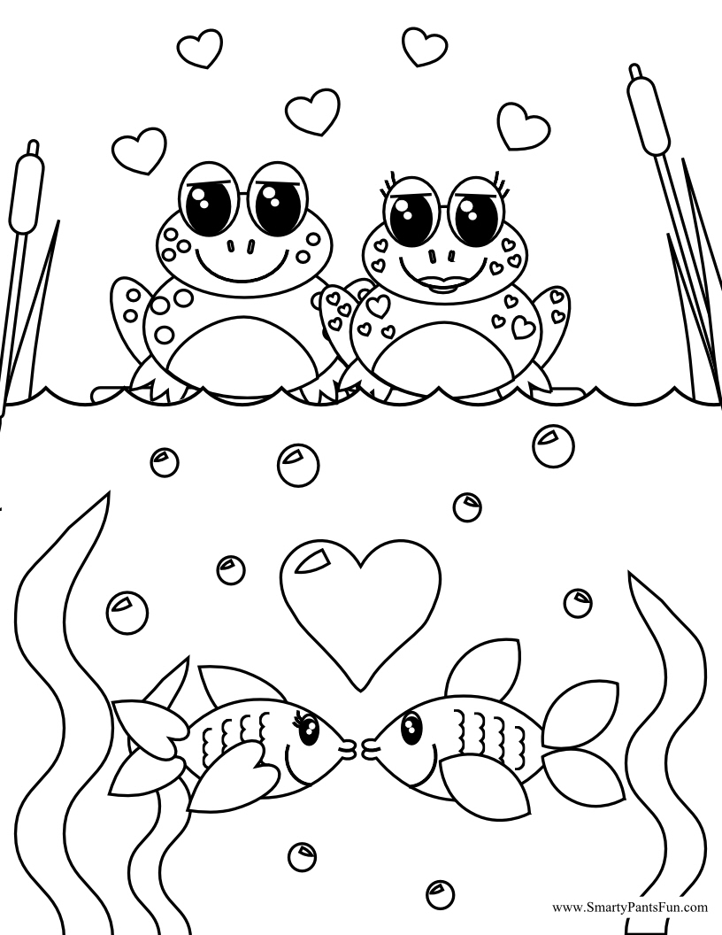 valentines day coloring pages free printable smarty pants fun printables january 2012 pages day valentines printable coloring free