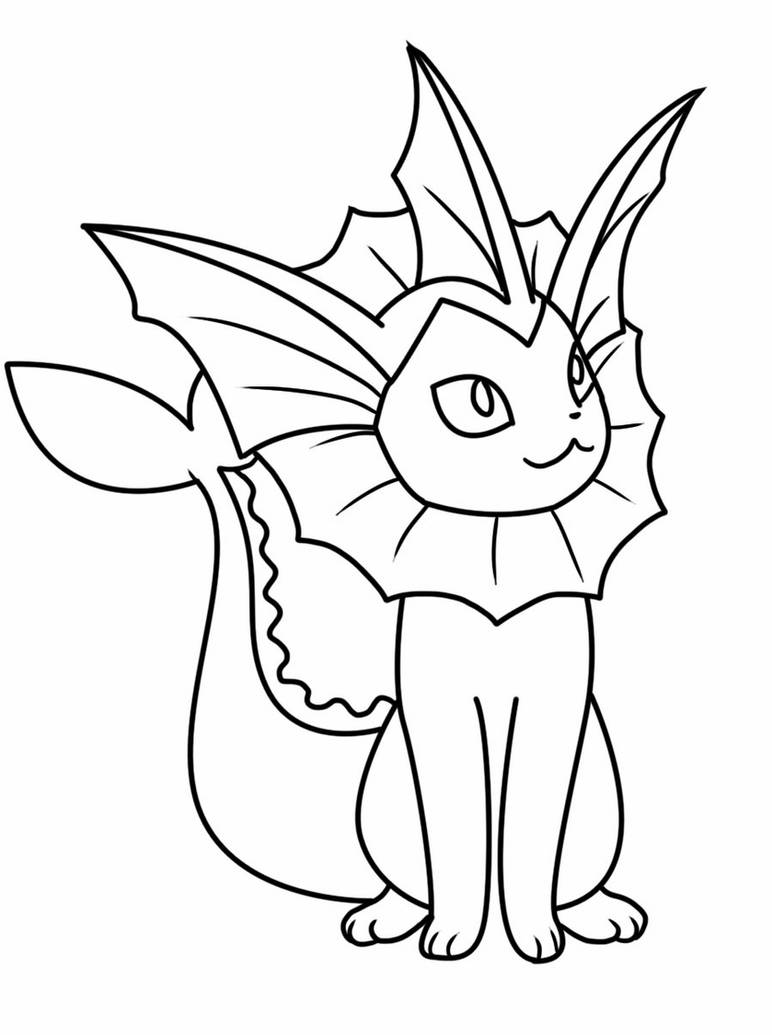 vaporeon pokemon coloring pages coloring smart printable coloring pages for your kids coloring pages pokemon vaporeon