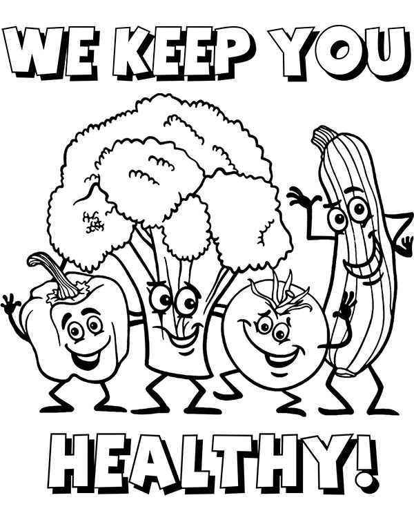 vegetable pictures to colour healthy vegetables to color for children coloring image pictures colour vegetable to