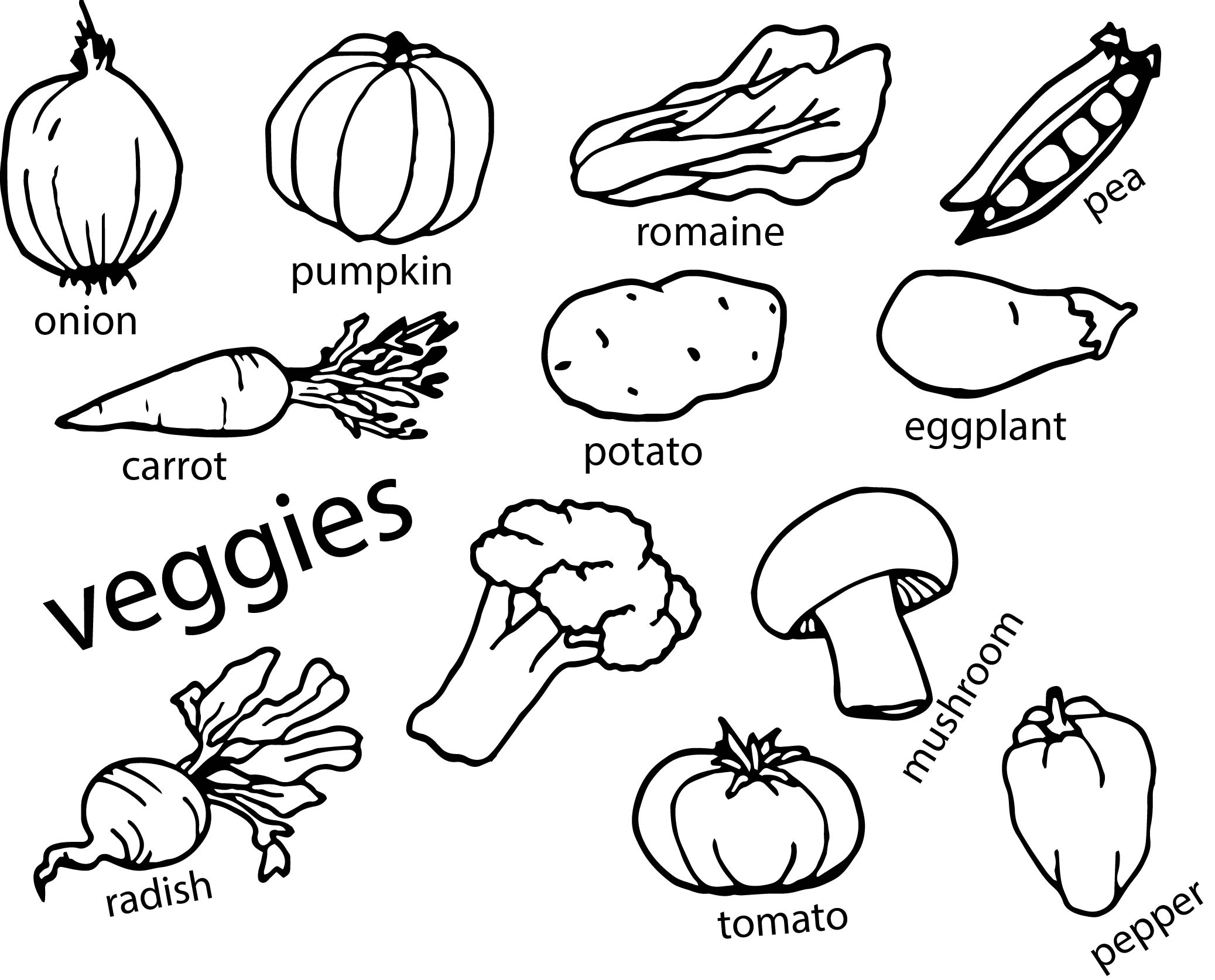 vegetable pictures to colour vegetables pictures for kids clipart panda free pictures colour to vegetable