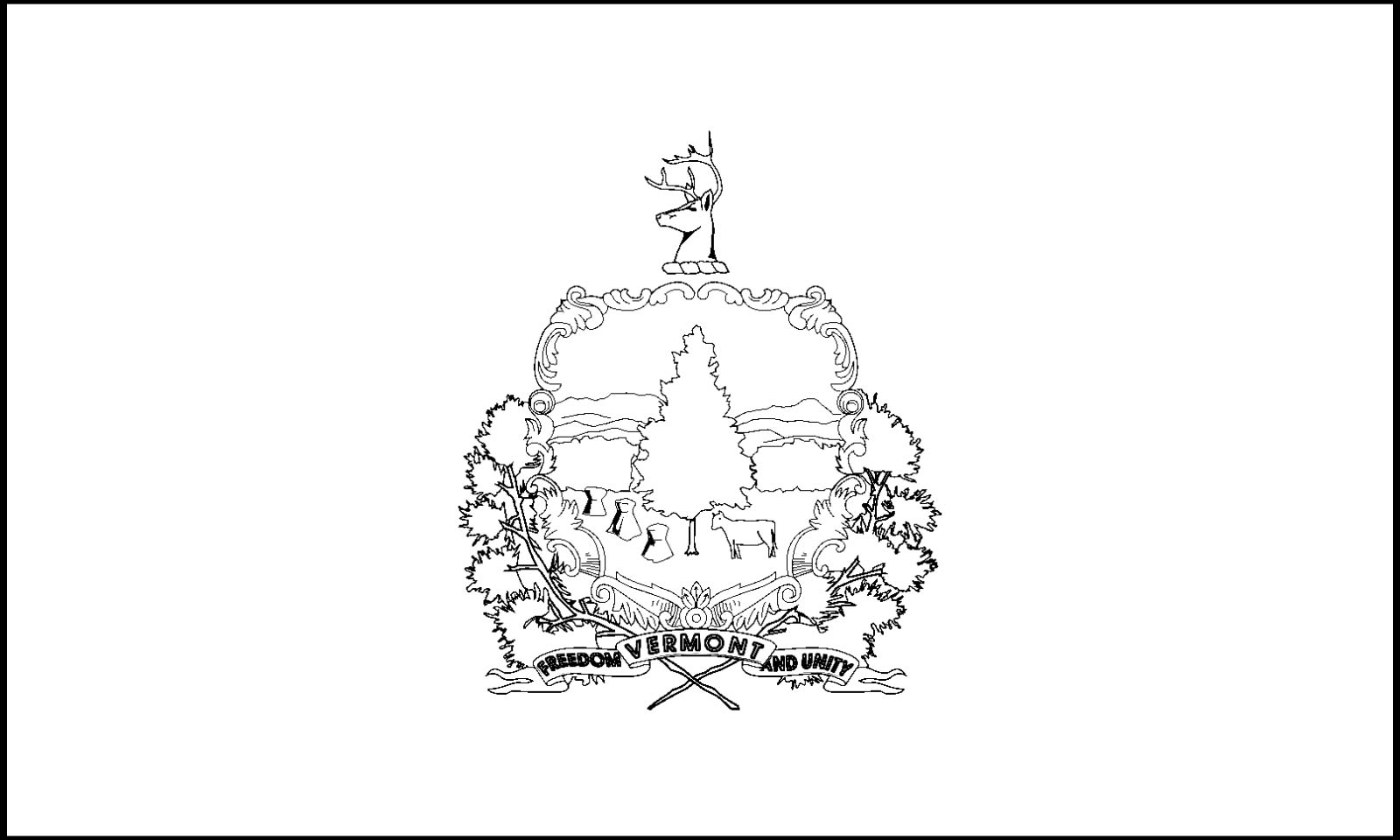 vermont state flag coloring page free printable vermont state flag color book pages 8 x 11 state coloring vermont flag page