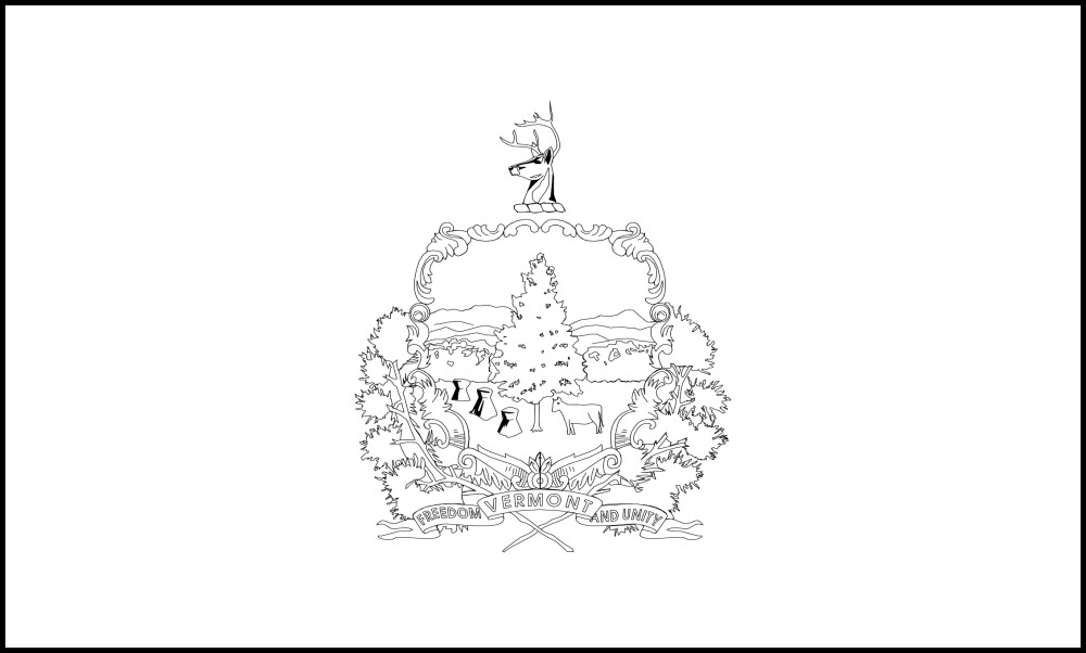 vermont state flag coloring page vermont flag coloring page purple kitty coloring vermont state flag page