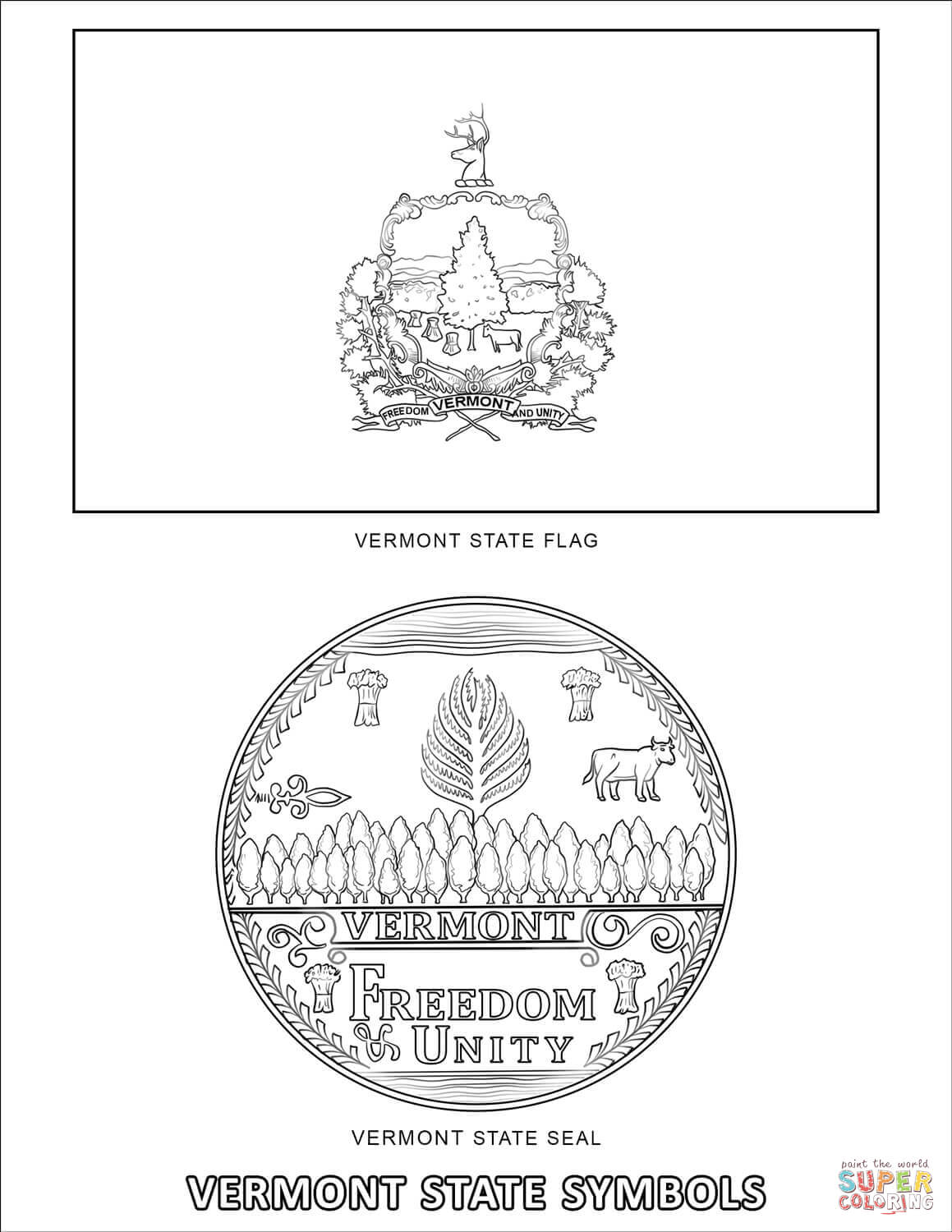 vermont state flag coloring page vermont state flag coloring pages 2019 open coloring pages page state coloring flag vermont